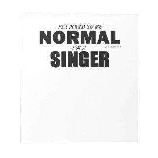 Normal Singer Notepad