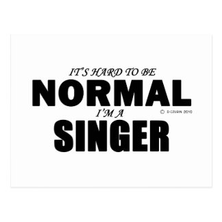Normal Singer Postcard