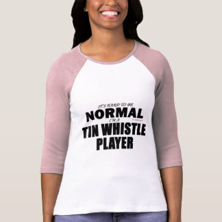 Normal Tin Whistle Player T-Shirt