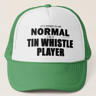 Normal Tin Whistle Player Trucker Hat