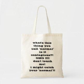 normal? tote bag
