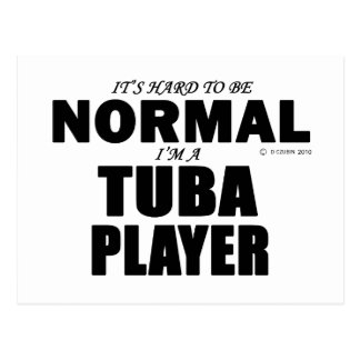 Normal Tuba Player Postcard