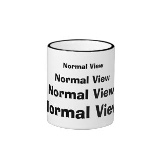 Normal View Mug