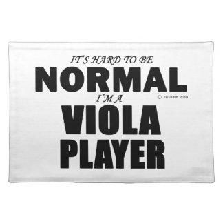 Normal Viola Player Placemats