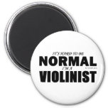 Normal Violinist Refrigerator Magnets