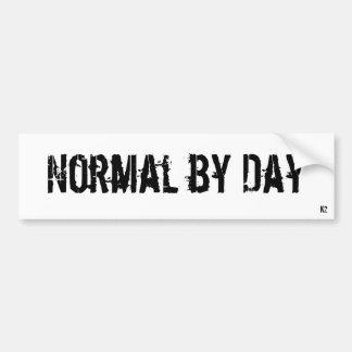 NormalByDay Car Bumper Sticker