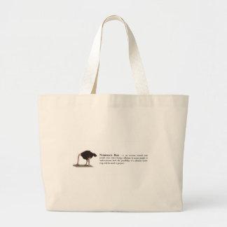Normalcy Bias Tote Bags