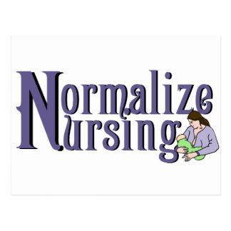 Normalice el oficio de enfermera tarjetas postales