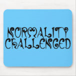 'Normality Challenged', Blue Mousepad
