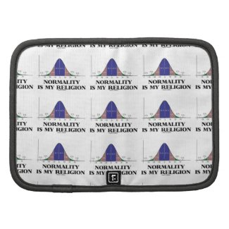 Normality Is My Religion (Bell Curve Humor) Planner