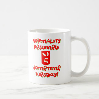 Normality Resumed Coffee Mug