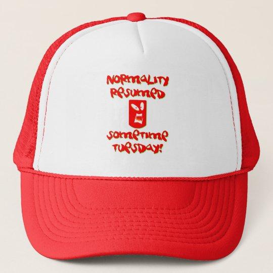 Normality Resumed Trucker Hat