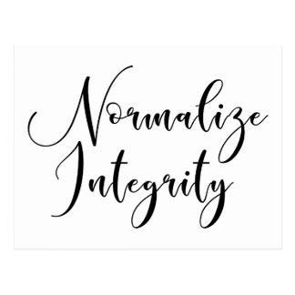 """Normalize Integrity"" - Write Your Senators Postcard"