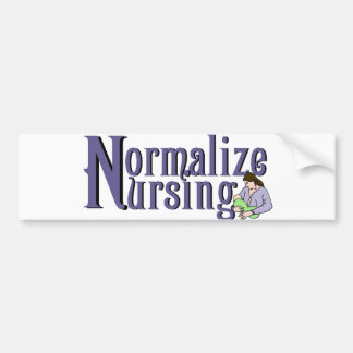 Normalize Nursing Bumper Sticker
