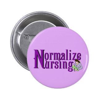 Normalize Nursing Pinback Button