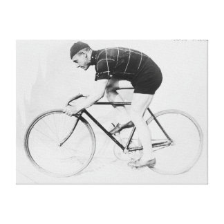 Norman Anderson Side View of Racing Bicycle Canvas Print