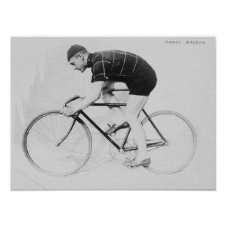 Norman Anderson Side View of Racing Bicycle Print