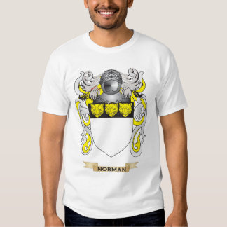 Norman Coat of Arms (Family Crest) Tee Shirts