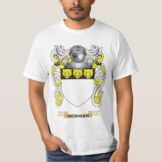 Norman Coat of Arms (Family Crest) Tees