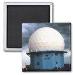 Norman Doppler Radar installation 2 Inch Square Magnet