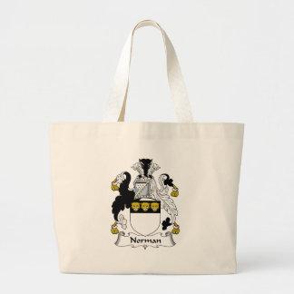 Norman Family Crest Canvas Bag