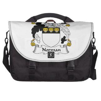 Norman Family Crest Commuter Bag