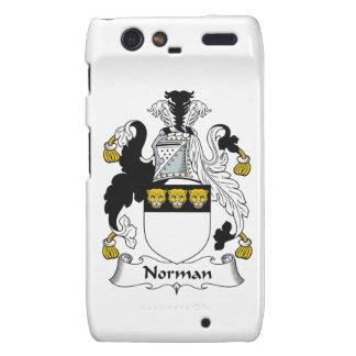 Norman Family Crest Droid RAZR Cases