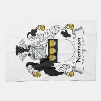 Norman Family Crest Hand Towel