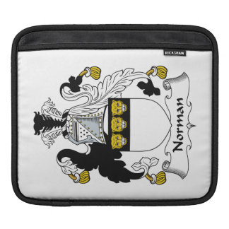 Norman Family Crest iPad Sleeves