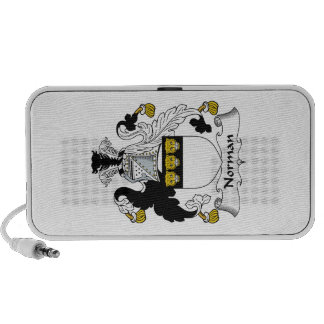 Norman Family Crest iPhone Speakers