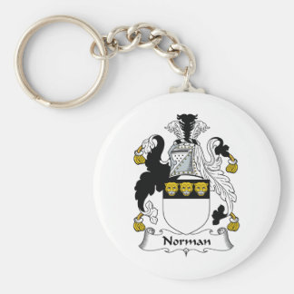 Norman Family Crest Key Chain