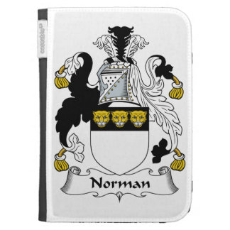 Norman Family Crest Kindle Covers