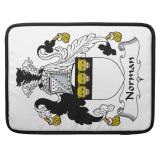 Norman Family Crest MacBook Pro Sleeve