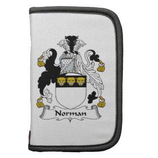 Norman Family Crest Organizer