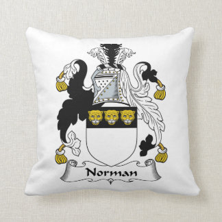Norman Family Crest Pillow