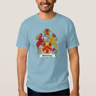 Norman Family Crest Tshirts
