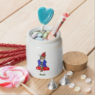 Norman Gnome Candy Jar