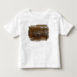 Norman iron scroll work on wooden door toddler t-shirt