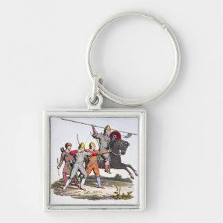 Norman Knight and Archers, 1066, from 'Ancient Arm Keychain
