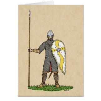 Norman Knight Circa 1066 Card
