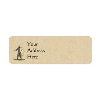 Norman Knight Circa 1066 Label