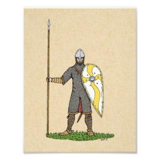 Norman Knight Circa 1066 Photo Print