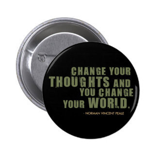 Norman Vincent Peale Quote 2 Inch Round Button