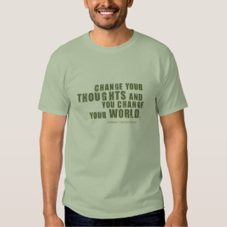 Norman Vincent Peale Quote T Shirt
