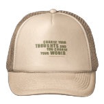 Norman Vincent Peale Quote Trucker Hat
