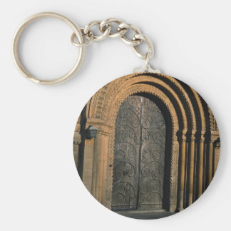 Norman West Door, Southwell Minister, Nottinghamsh Key Chains