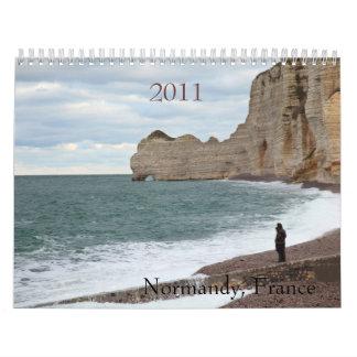 Normandía, Francia, 2011 Calendario