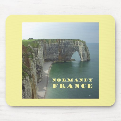 Normandía Francia Tapete De Raton