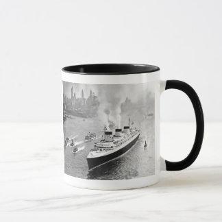 Normandie and Tugs Mug