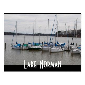 Normando del lago postal